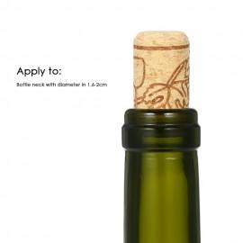 100pcs/set Wine Bottle Stopper 44*22mm Set of 100p..