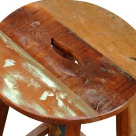 Barhocker aus recyceltem Holz