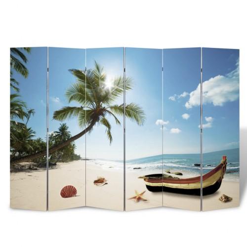 Room Divider Print 240 x 180 Beach