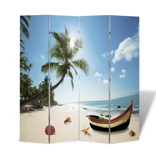 Room Divider Print 160 x 180 Beach