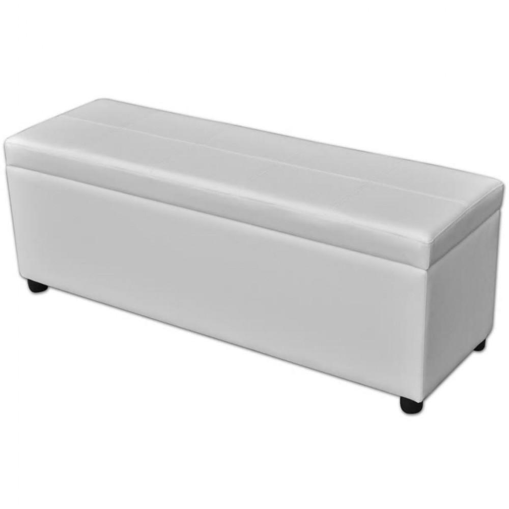 Storage Bench Storage white wood