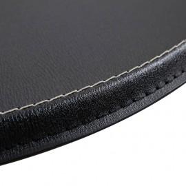 3-part Bar set faux leather black