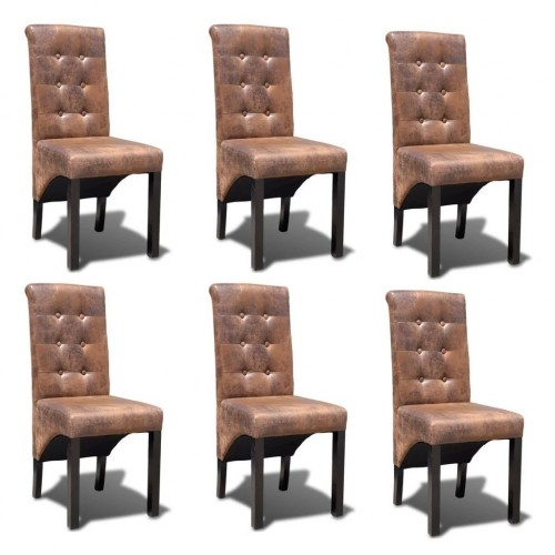 Kitchen chair height quality furniture 6 pcs.